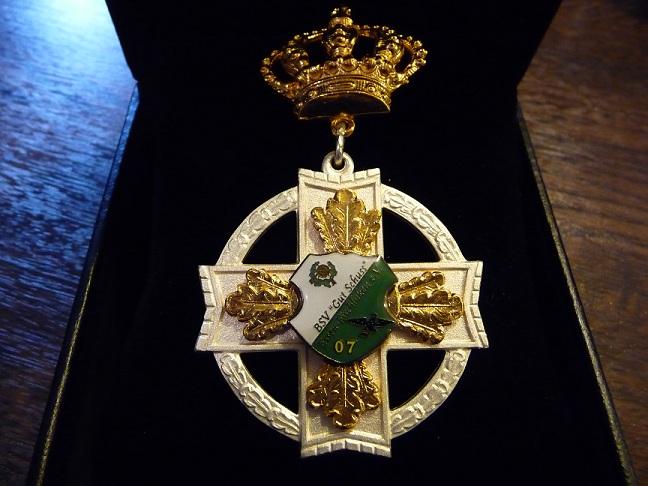 Das Ehrenkreuz der Maecenas-Mitgleider